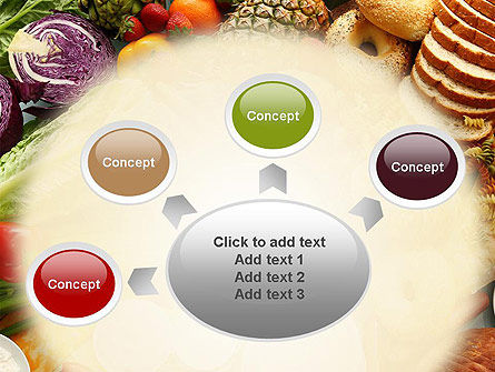 Abundance Of Food PowerPoint Template Slide 7