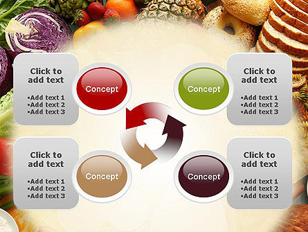 Abundance Of Food PowerPoint Template Slide 9