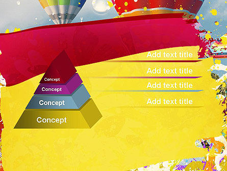Mottled Colors PowerPoint Template Slide 12