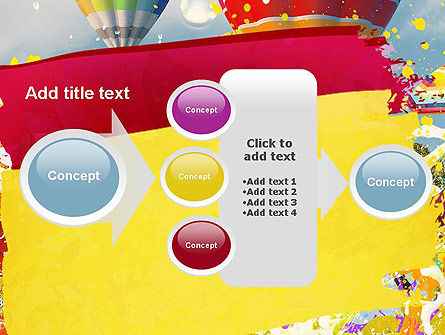 Mottled Colors PowerPoint Template Slide 17