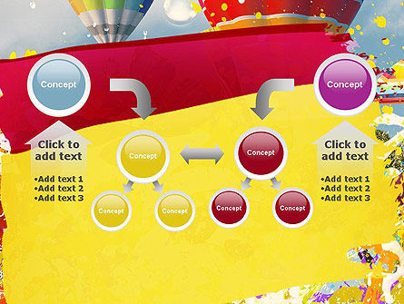 Mottled Colors PowerPoint Template Slide 19