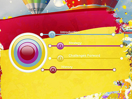 Mottled Colors PowerPoint Template, Slide 3, 11306, Art & Entertainment — PoweredTemplate.com