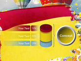 Mottled Colors PowerPoint Template#11