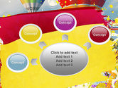 Mottled Colors PowerPoint Template#7