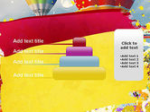 Mottled Colors PowerPoint Template#8