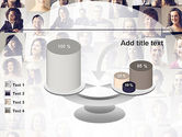 Beautiful Faces Collage PowerPoint Template#10