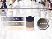 Beautiful Faces Collage PowerPoint Template#11