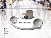 Beautiful Faces Collage PowerPoint Template#16