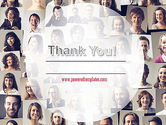 Beautiful Faces Collage PowerPoint Template#20