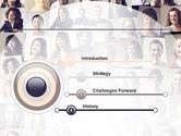 Beautiful Faces Collage PowerPoint Template#3