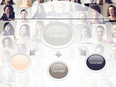 Beautiful Faces Collage PowerPoint Template#4