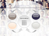 Beautiful Faces Collage PowerPoint Template#6