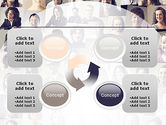 Beautiful Faces Collage PowerPoint Template#9