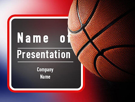 Sports: NBA Championship PowerPoint Template #11310