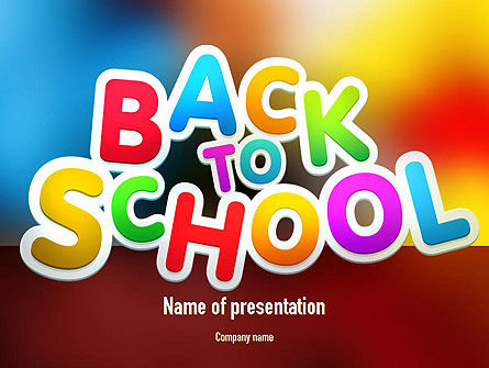 Education & Training: New School Year PowerPoint Template #11311