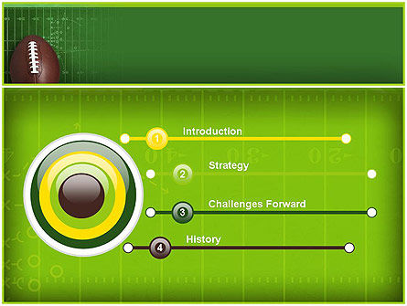 NFL Super Bowl PowerPoint Template, Slide 3, 11313, Sports — PoweredTemplate.com