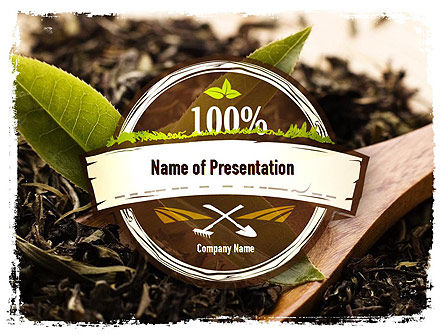 Flavored Tea PowerPoint Template