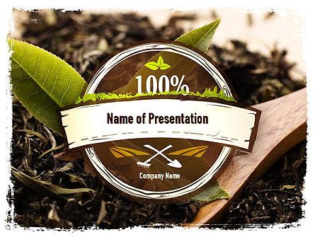 Flavored Tea PowerPoint Template, 11314, Food & Beverage — PoweredTemplate.com