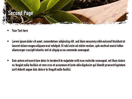 Flavored Tea PowerPoint Template, Slide 2, 11314, Food & Beverage — PoweredTemplate.com