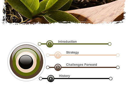 Flavored Tea PowerPoint Template, Slide 3, 11314, Food & Beverage — PoweredTemplate.com