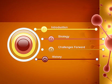 Carbon Atom PowerPoint Template, Slide 3, 11315, Technology and Science — PoweredTemplate.com