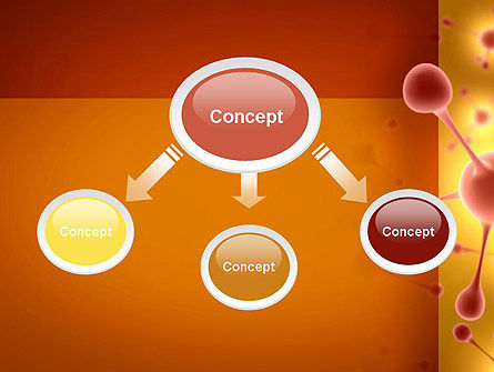 Carbon Atom PowerPoint Template, Slide 4, 11315, Technology and Science — PoweredTemplate.com