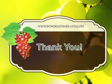 Wine Label PowerPoint Template Slide 20