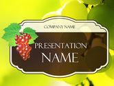 Food & Beverage: Wine Label PowerPoint Template #11316