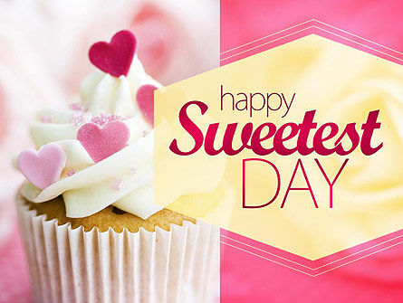 Holiday/Special Occasion: Happy Sweetest Day PowerPoint Template #11317
