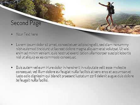 Adventure PowerPoint Template, Slide 2, 11319, Sports — PoweredTemplate.com