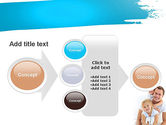 Father's Tenderness PowerPoint Template#17