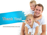 Father's Tenderness PowerPoint Template#20