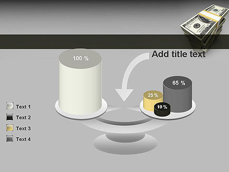 Pile of Money PowerPoint Template Slide 10
