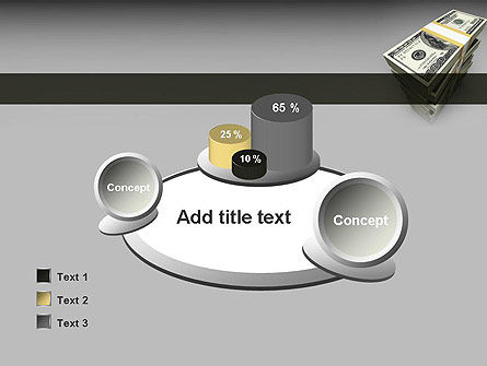 Pile of Money PowerPoint Template Slide 16