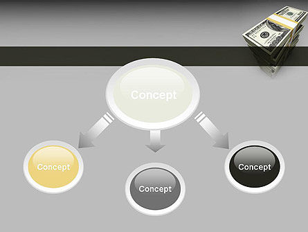 Pile of Money PowerPoint Template Slide 4