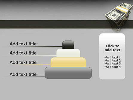 Pile of Money PowerPoint Template Slide 8