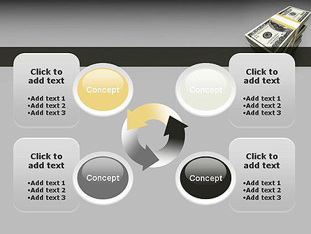 Pile of Money PowerPoint Template Slide 9