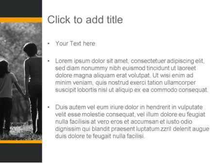 Family Life PowerPoint Template, Slide 3, 11328, People — PoweredTemplate.com