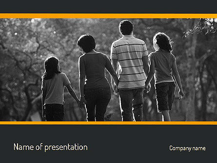 Family Life PowerPoint Template