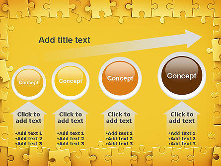 Puzzle Frame PowerPoint Template Slide 13