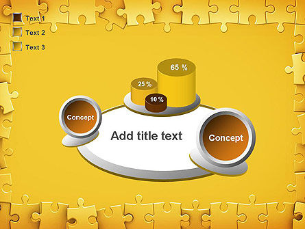 Puzzle Frame PowerPoint Template Slide 16