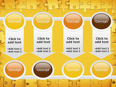 Puzzle Frame PowerPoint Template Slide 18