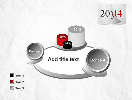 Tear-off Year Change Calendar PowerPoint Template Slide 16
