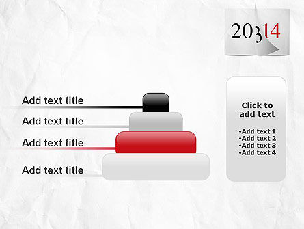 Tear-off Year Change Calendar PowerPoint Template Slide 8