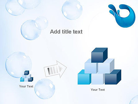 Aqua Themed PowerPoint Template Slide 13