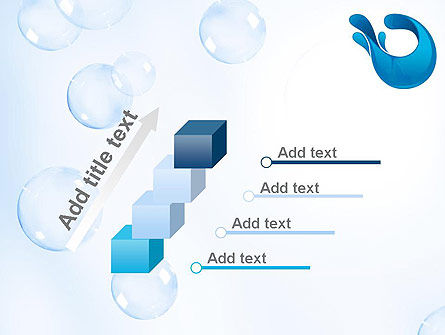 Aqua Themed PowerPoint Template Slide 14
