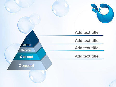 Aqua Themed PowerPoint Template, Slide 4, 11333, Abstract/Textures — PoweredTemplate.com