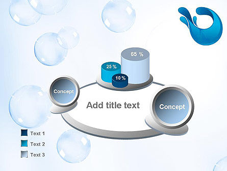 Aqua Themed PowerPoint Template Slide 6