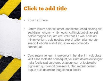Under Construction Themed PowerPoint Template, Slide 3, 11336, Construction — PoweredTemplate.com