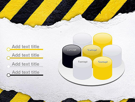 Under Construction Themed PowerPoint Template Slide 12